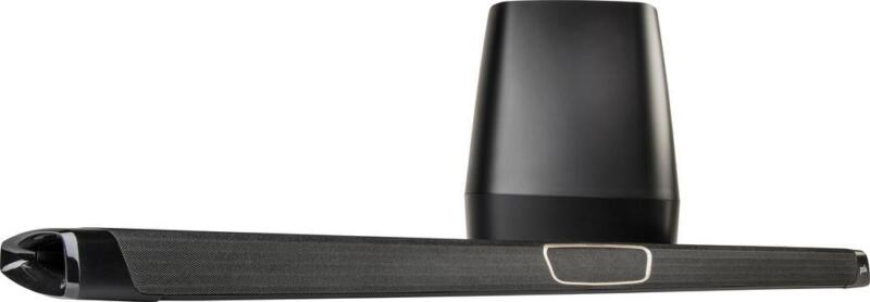 """Polk Audio 3.1-Channel Soundbar System with 8"""" Wireless Subwoofer and Digital Amplifier Black MAGNIFI MAX SYSTEM"""