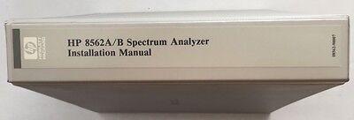 Hp 8562ab Spectrum Analyzer Installation Manual Pn 08562-90007