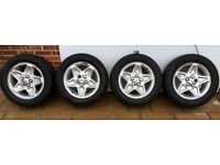 "Range Rover 18"" Alloy Wheels And Tyres, 255 x 55 x 18"