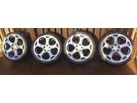 "Lambo style Alloys. 19"" Audi VAG Alloy Wheels"