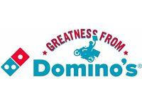 Domino's Car Delivery Driver - Shrewsbury (SY1)