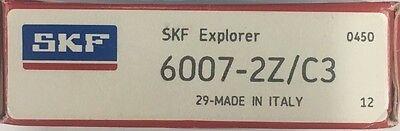 6007-2z C3 Skf Single Row Deep Grove Ball Bearing 35x62x14 Mm