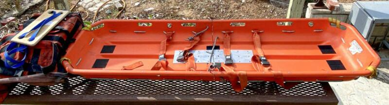 Dyna Med Folding Emergency Rescue Stretcher Snow Sled Litter Evac - Missing Pad