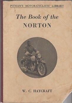 NORTON MODEL 1 16H 18 19R 19S 20 50 55 & ES2 (1932-56) OWNERS REPAIR MANUAL