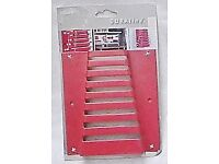 METAL WALL BRACKET To SECURE YOUR WRENCHES. Brand New In Pack.