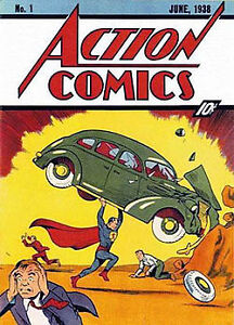 first1976 reprint of 1938 superman
