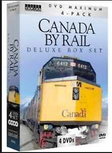 Canada By Rail Deluxe DVD Box Set