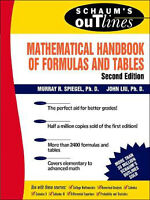 Mathematical Handbook of Formulas and Tables - 2nd Edition