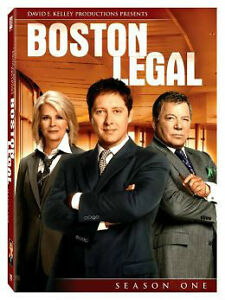 Boston Legal Seasons 1 and 2 Cambridge Kitchener Area image 1