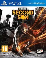 INFAMOUS SECOND SON FOR SALE FOR THE PS4
