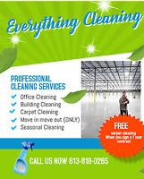 Move-In Move-Out Cleaning & Office Cleaning Services