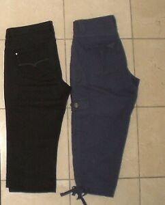 $10 for Both:  Two New Capri Pants, Size M