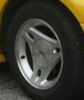 4 Mustang Rims Need Paint Or Refinished