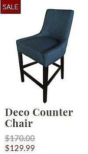 Indoor Counter and Bar Chairs Blowout