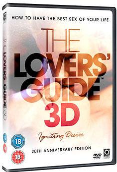 DVD:LOVERS GUIDE 3D - IGNITING DESIRE & ENJOY THE BEST SEX  - NEW Region 2 UK
