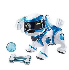 Teksta Voice Recognition robot puppy with ball and bone. New born puppy also included!!!