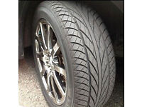 Pair of new and pair of part worn (5+ mm tread,no repair or damage) Goodride SV308 tyres ( 4 tyres )