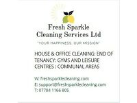 Fresh Sparkle Cleaning Ltd Fully Insured & Trained Cleaners