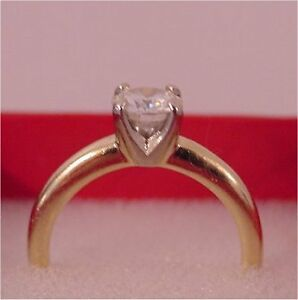 Moissanite Solitare Ring Prince George British Columbia image 2