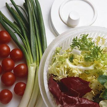 Wozu brauche ich eigentlich eine Salatschleuder?