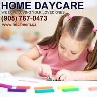Home Daycare in Williamsburg-Whitby