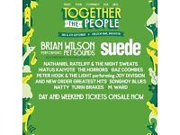 Together the people festival - Brighton (Saturday 3rd Sept)