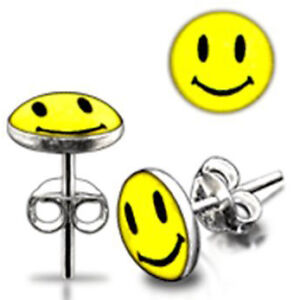 Brand new set of smiley face earrings London Ontario image 1