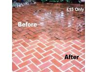 [£15 Low Prices] Professional Driveway Cleaning Service Jet washing / Patio Cleaning /Chemicals