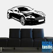 Sports Car Wall Mural