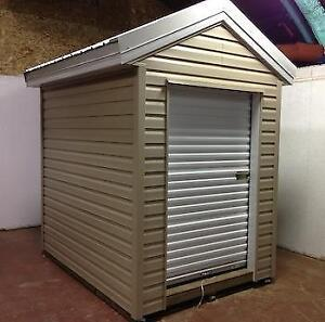 Brand new white 5 x 7 roll up door great for shed or garage!