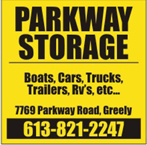 Parkway Storage - Secure Storage for your Vehicles