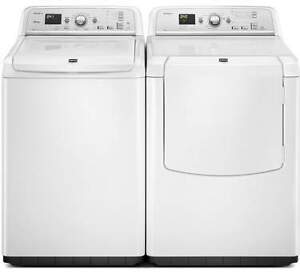 White Washer/Dryer COMBO, GAS [Maytag]