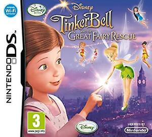 TinkerBell & the Great Fairy Rescue- DS Game