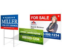 Yard Signs- 1 sided - PRINTING