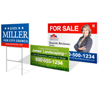 Yard Signs- 1 sided - PRINTING