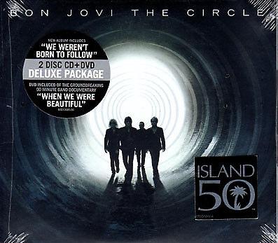 Bon Jovi unopened brand new The Circle CD AFTAL