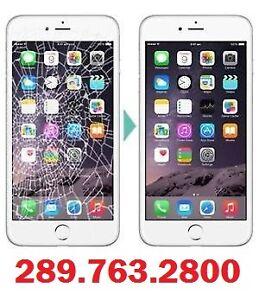 iPhone 6 plus, 6, 5S, 5C, 5, 4S, 4 Screen Repair $25
