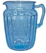 Blue Mayfair Depression Glass