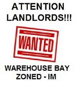 WANTED - Warehouse (4000-6000 sq.ft) with small yard NW Edmonton