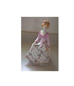 Vintage Porcelain Southern Belle Figurine in a Floral Dress