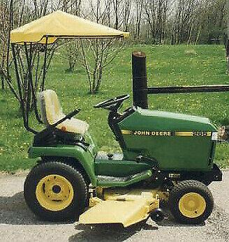 Original Tractor Cab Sunshade Fits John Deere 325 335 345 355d Gx325 Gx335