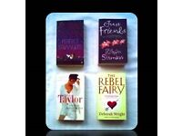WOMEN'S FICTION - PAPERBACK BOOKS - (4) - FOR SALE