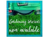 Hedges & Edges mowing & tidy ups Gardening services