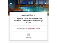 Overnight stay in 4*spa hotel for 2