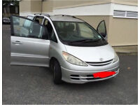 2002 TOYOTA PREVIA DIESEL 8 SEATER QUICK SALE