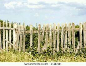 Old fence for firewood
