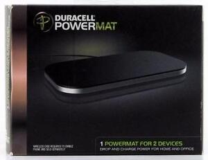 WIRELESS CHARGING POWER MAT DURACELL FOR SAMSUNG, LG ETC. PHONES