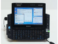 Sony VAIO VGN-UX1XN Touch Screen 32GB SSD Intel Core Solo, 1.33GHz, 1GB Laptop PC UMPC