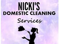 Nicki's Domestic Cleaning Services - Warwick, Leamington Spa etc