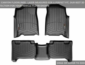 Weather Tech Floor Mats GMC Canyon/Chevy Colorado